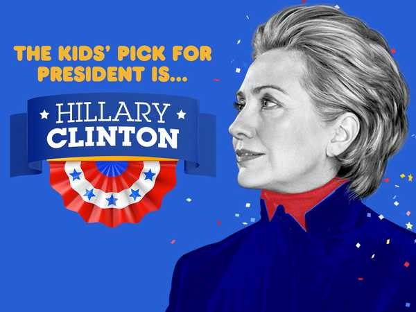 Kids Pick the President: Hillary Clinton Wins: Watch Now