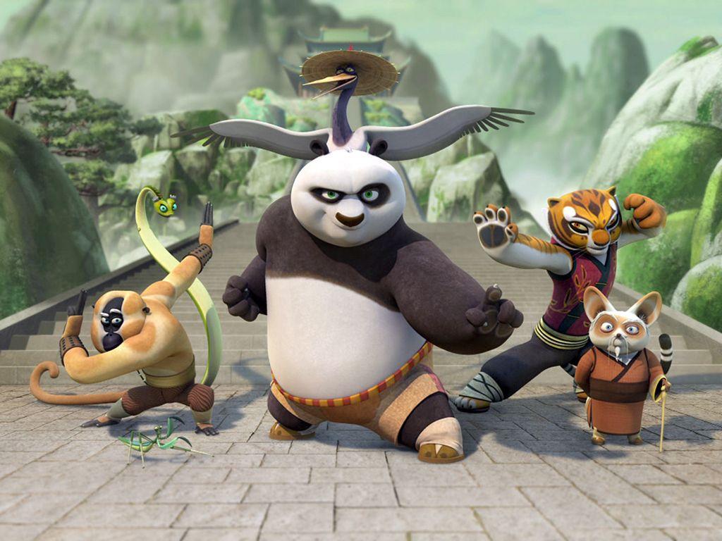Kung Fu Panda Po And Song