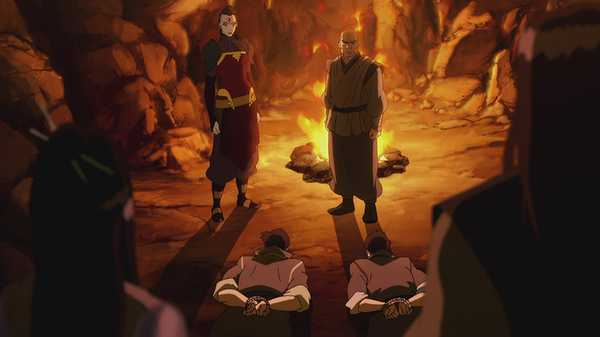 "Legend of Korra: ""The Stakeout"""