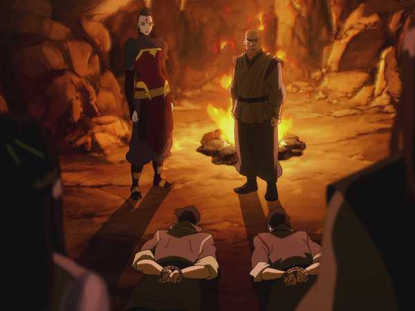 """Legend of Korra: """"The Stakeout"""""""