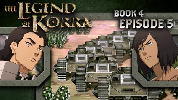 "The Legend of Korra: ""Enemy at the Gates"""