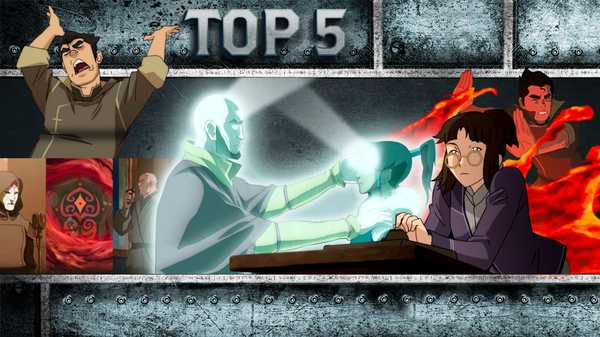 "Legend of Korra: ""Top 5 Fan Favorite Moments"""