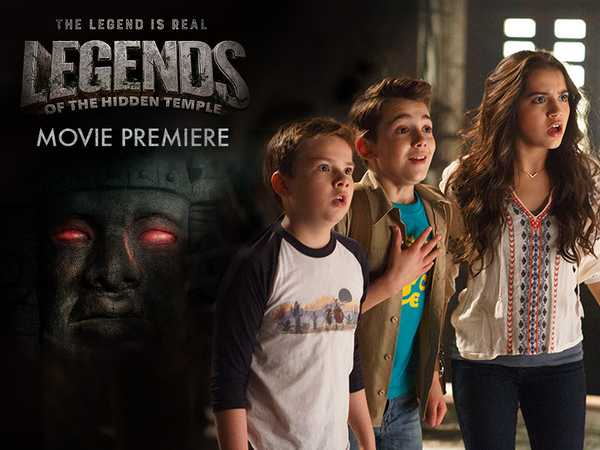 Legends of the Hidden Temple Movie Promo
