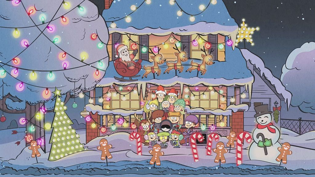 the loud house 12 days of christmas