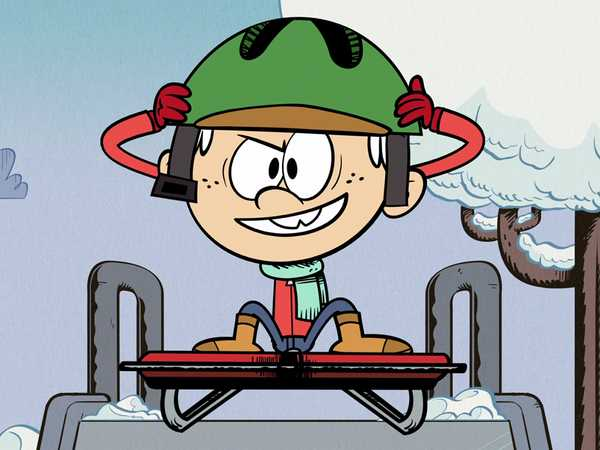 """The Loud House: """"Flying Sled"""""""