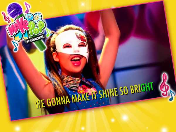 "Make It Pop: ""Light It Up Karaoke!"""