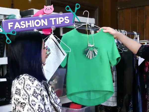 "Make It Pop: ""Louriza's Tips: Green Blouse"""