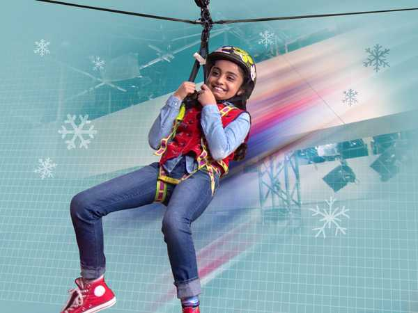 "Max & Shred: ""Ziplining on Set!"""