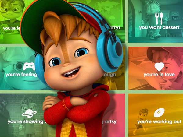 "ALVINNN!!! and the Chipmunks: ""Chipmunks' Top Tracks"""