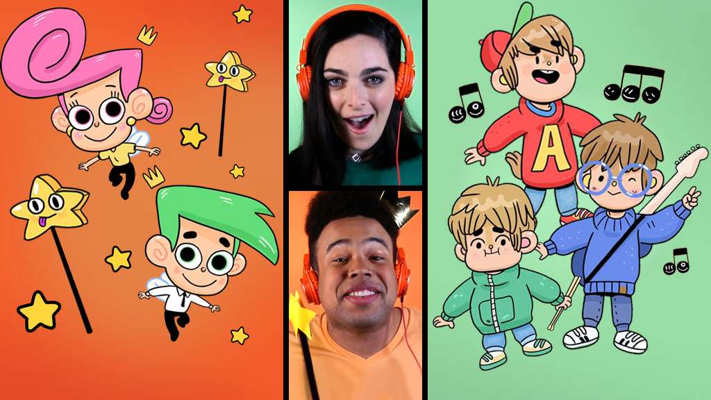 Acapella Theme Song Battle: Fairly OddParents and Alvin