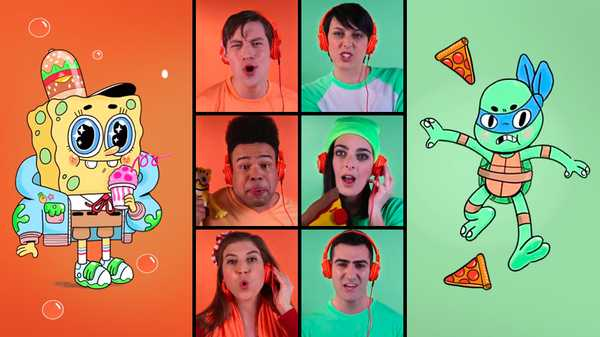 Acapella Theme Song Battle: SpongeBob SquarePants and Teenage Mutant Ninja Turtles