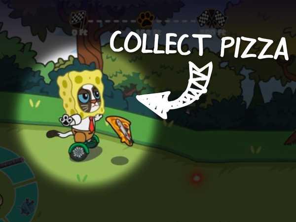 NickGamer: Hover Pizza Cats