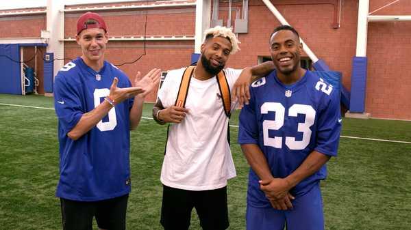 Kellin' It With The NY Giants