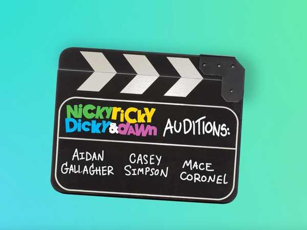 """Nicky, Ricky, Dicky & Dawn: """"The Tryouts!"""""""