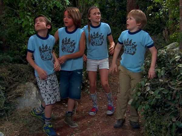 """Nicky, Ricky, Dicky, and Dawn: """"Lost At Camp"""""""