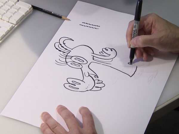 "Pig Goat Banana Cricket: ""How to Draw Goat"""