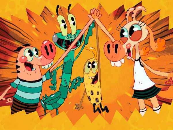 """Pig Goat Banana Cricket: """"BFF Facts"""""""