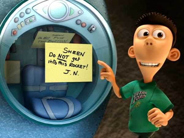 "Planet Sheen: ""Pilot: Space Cadet"""