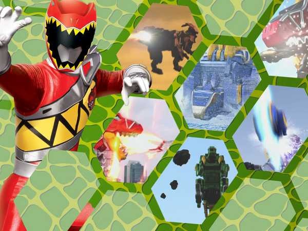 Power Rangers Dino Charge: Top 7 Dino Moves