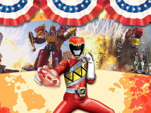 "Power Rangers Dino Charge: ""All American Dino Explosion"""