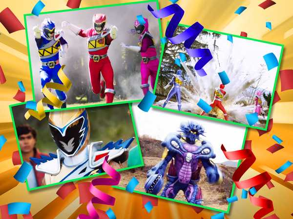 "Power Rangers Dino Charge: ""Kick in the New Year!"""