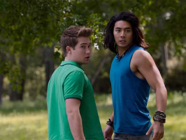 "Power Rangers Dino Charge: ""Trust Exercises"""