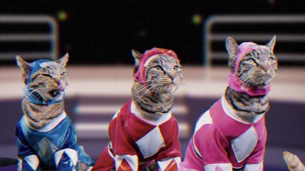 "Power Rangers: ""Meower Rangers"""