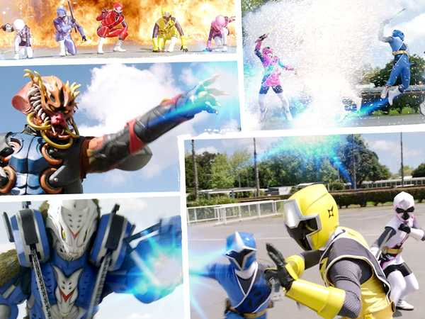 "Power Rangers Ninja Steel: ""All of the Action!"""