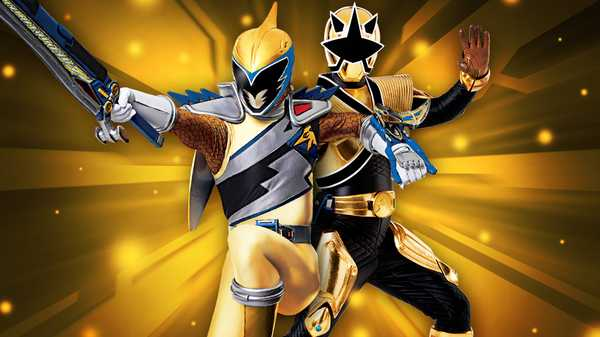 "Power Rangers Dino Charge: ""The Gold Rangers"""