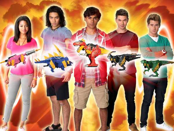 Power Rangers Dino Charge Pics