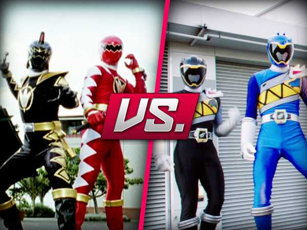 "Power Rangers Dino Charge: ""Dino Charge vs. Dino Dino Thunder"""