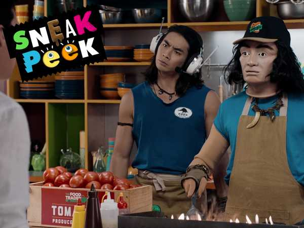 "Power Rangers Dino Super Charge: ""Worg the Cook"""