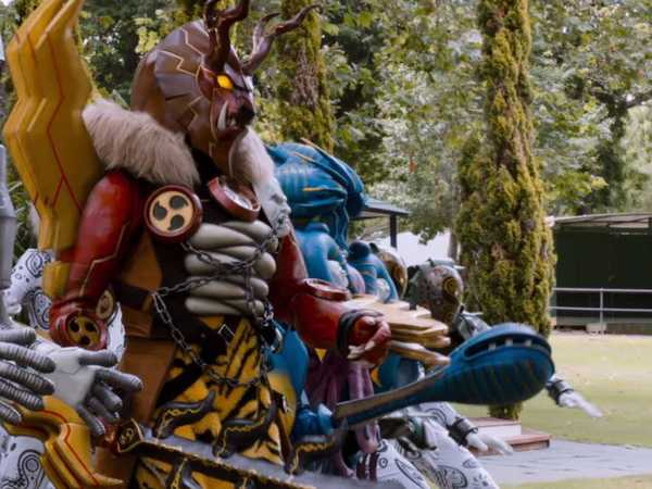 "Power Rangers Dino Charge: ""Fury Attacks"""
