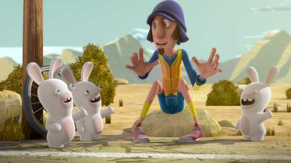 "Rabbids Invasion: ""The Hitch Hiker"""