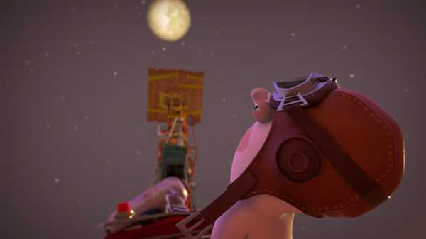 """Rabbids Invasion: """"To the Moon"""""""