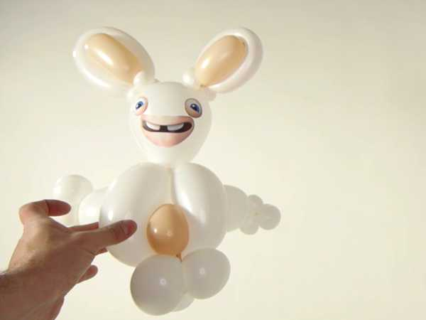 "Rabbids Invasion: ""Rabbids Balloon Art"""