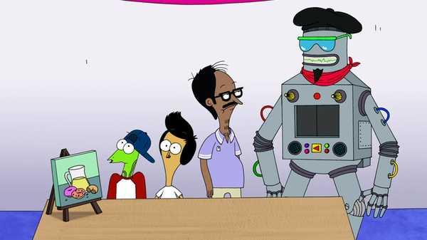 """Sanjay and Craig: """"Arty Bot"""""""