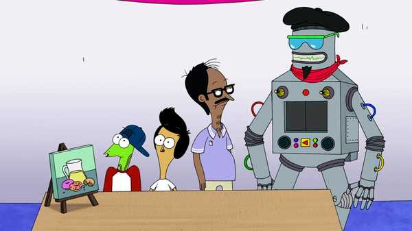 "Sanjay and Craig: ""Arty Bot"""