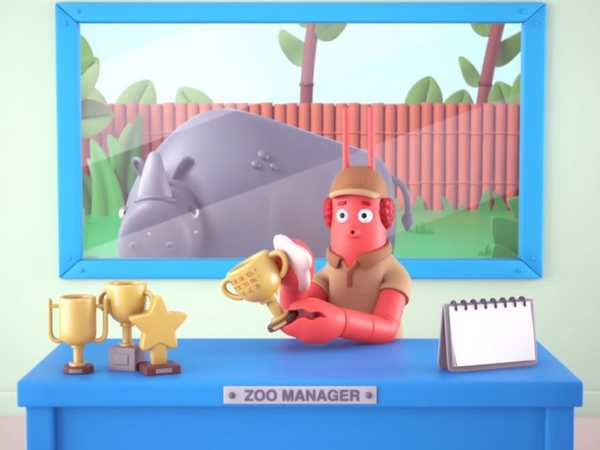 "Short Toons: ""Happy Zoo"""
