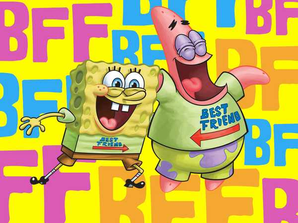"SpongeBob SquarePants: """"Are You and Your BFF Just Like SpongeBob and Patrick?"""