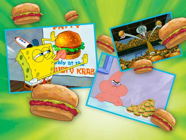 SpongeBob SquarePants: Krabby Patty Moments