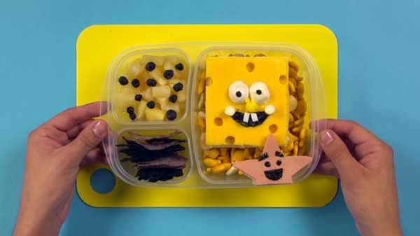 Make Your Own SpongeBob Bento Box