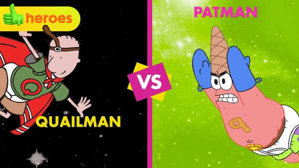 Patman Vs. Quailman: The Epic Showdown