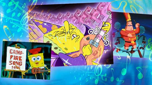 "SpongeBob SquarePants: ""Jam Out with SpongeBob"""