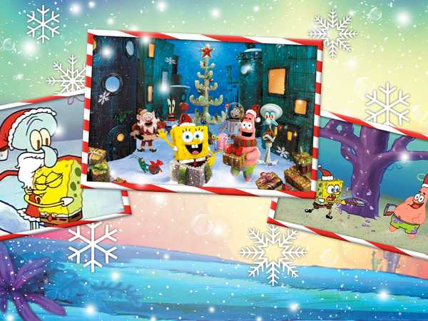 "Spongebob SquarePants: ""It's A Very Merry Bikini Bottom Holiday"""