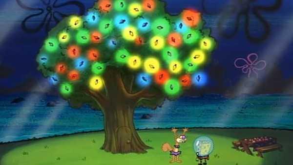 """Spongebob SquarePants: """"Christmas Tree"""""""
