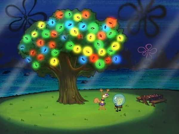 "Spongebob SquarePants: ""Christmas Tree"""