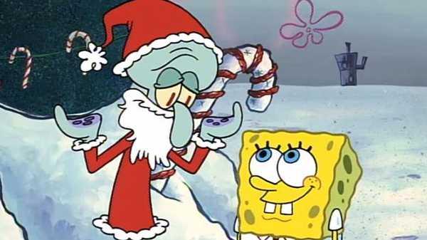 "Spongebob SquarePants: ""Santa Squid"""