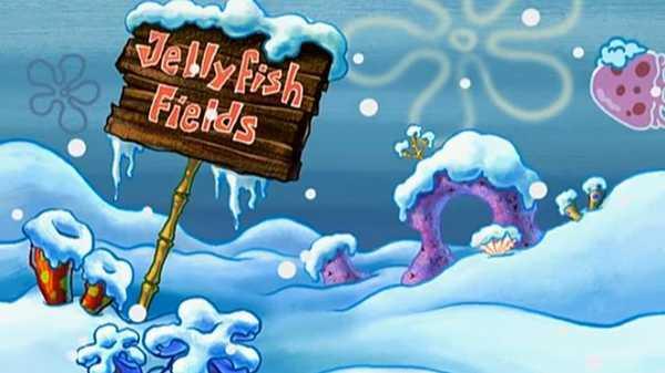 "Spongebob SquarePants: ""Snow-kini Bottom"""