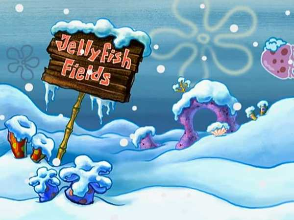 "Spongebob SquarePants: ""Snow-kini Bottom"""